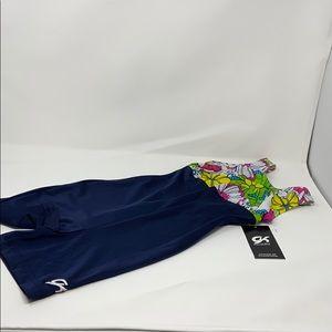NWT GK Elite Sportswear Unitard Gymnastics Suit